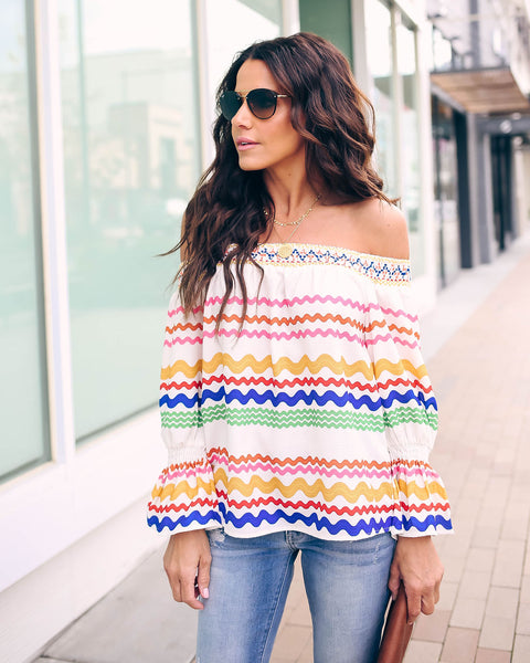 Creativity Off The Shoulder Top