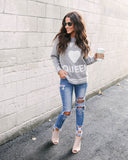 Caffeine Queen Knit Sweater