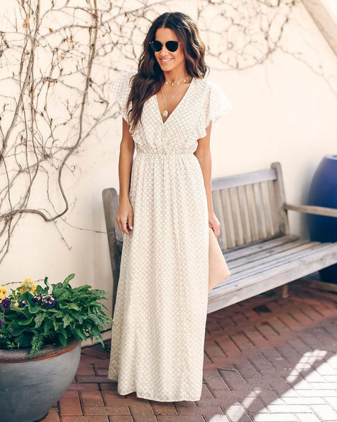 Mother Nature Cotton Maxi Dress