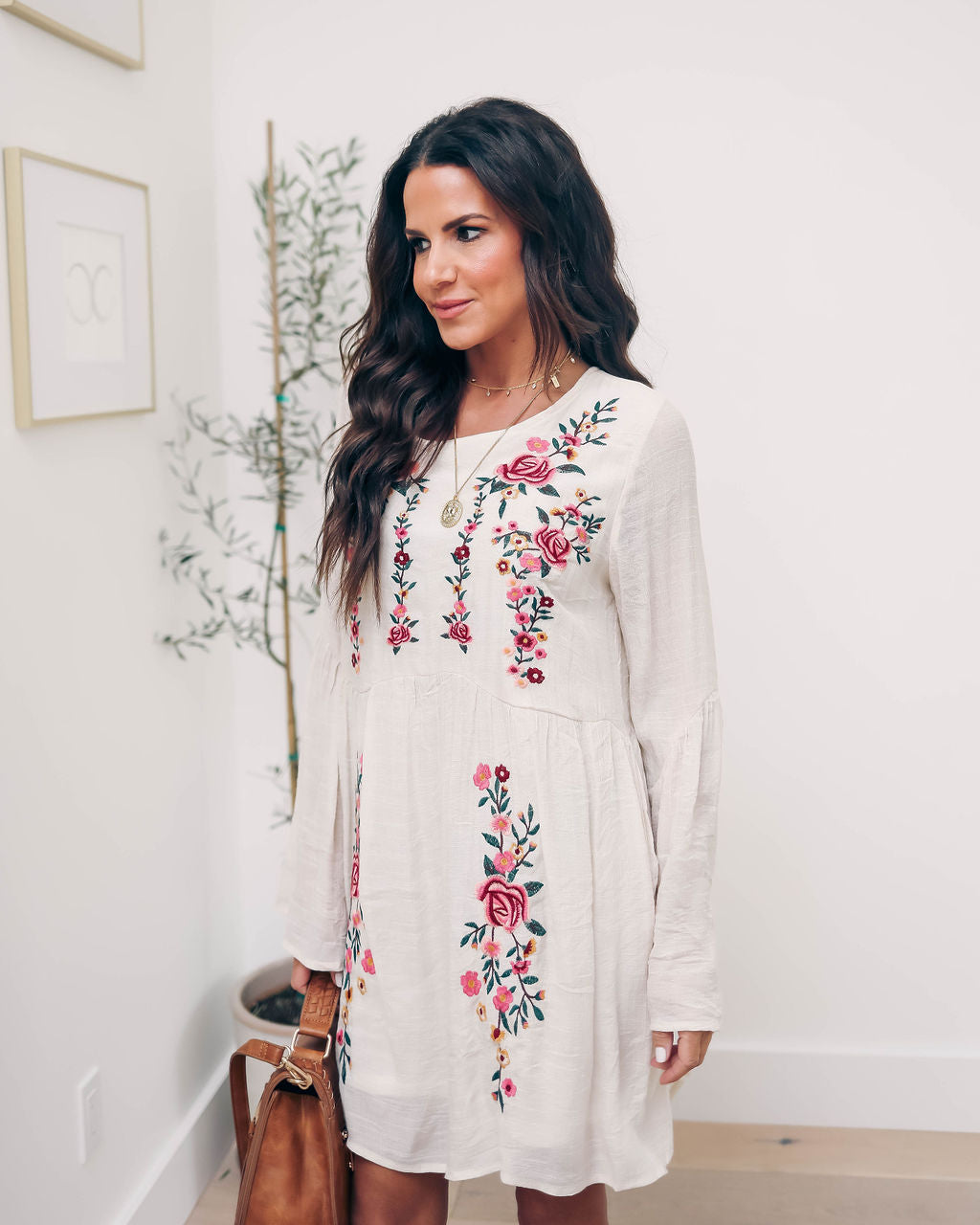 bd0c649a428 Fiona Embroidered Babydoll Dress – VICI