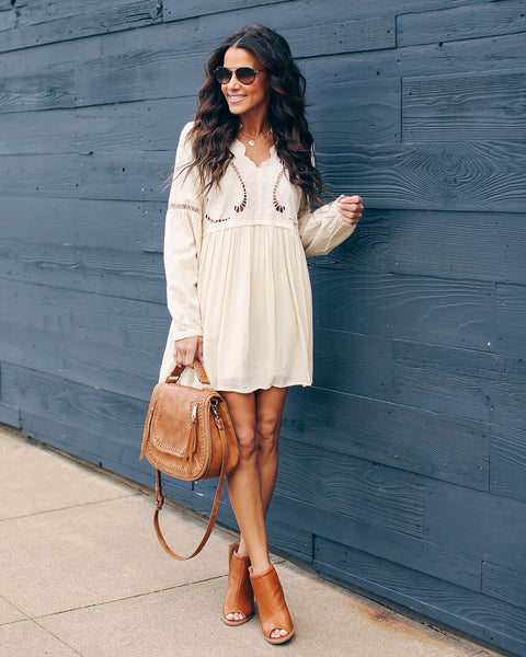 Gone With The Wind Cotton Boho Dress