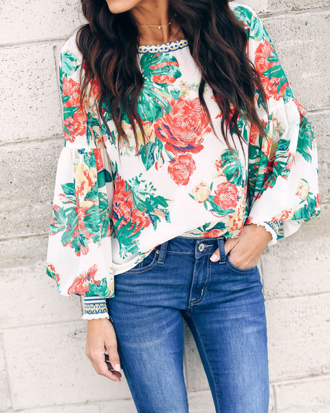 Treasure Trove Printed Blouse