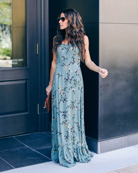 Garden State Ruffle Maxi Dress