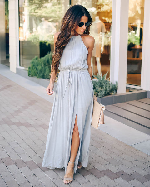 High Hopes Maxi Dress - Cloud