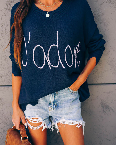 J'adore Light Knit Sweater