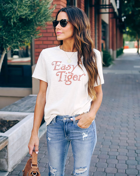 Vintage Easy Tiger Cotton Tee