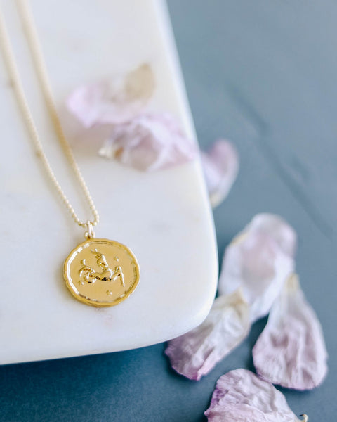 MEGHAN BO DESIGNS - Zodiac Necklace - Capricorn