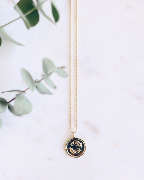 MEGHAN BO DESIGNS - Zodiac Necklace - Pisces