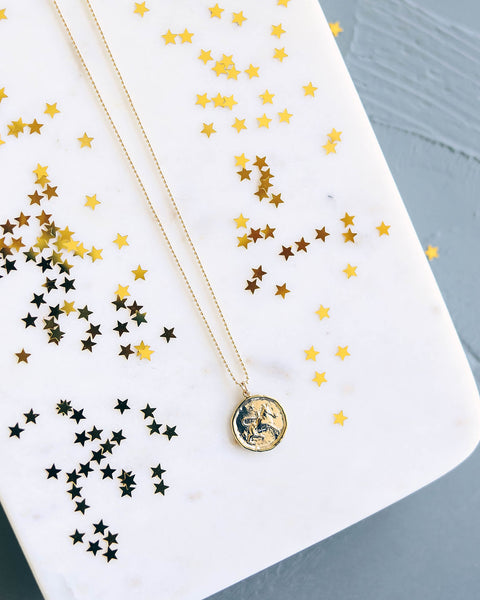 MEGHAN BO DESIGNS - Zodiac Necklace - Taurus