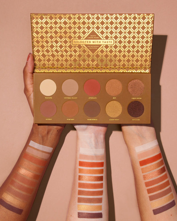 Zoeva - Caramel Melange Eyeshadow Palette - FINAL SALE view 4