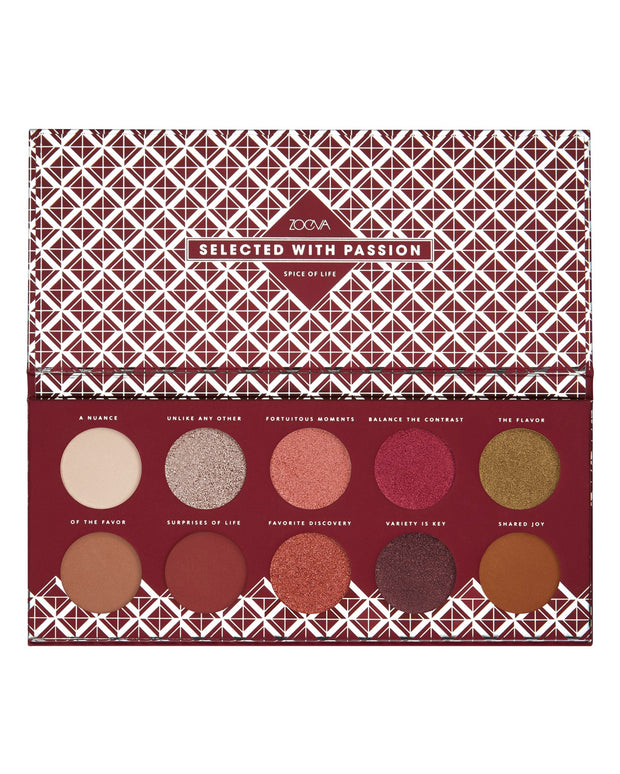 Zoeva - Spice Of Life Eyeshadow Palette - FINAL SALE view 2