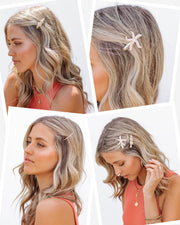 Shell Yeah Hair Clip Set view 2