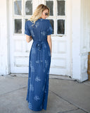 The Teal Deal Maxi Dress