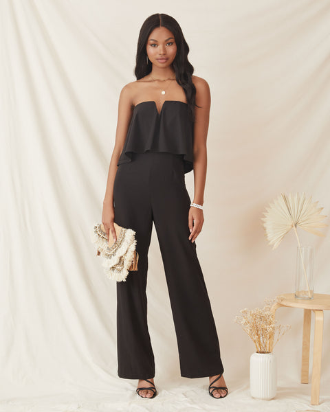Elevate Strapless Jumpsuit