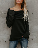 Veronica Cotton Knit Top