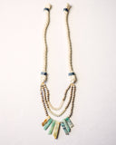 Treasure Beach Rope Beaded Layered Necklace