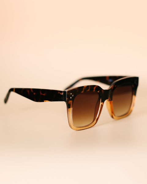 Famous Sunglasses - Brown Ombre