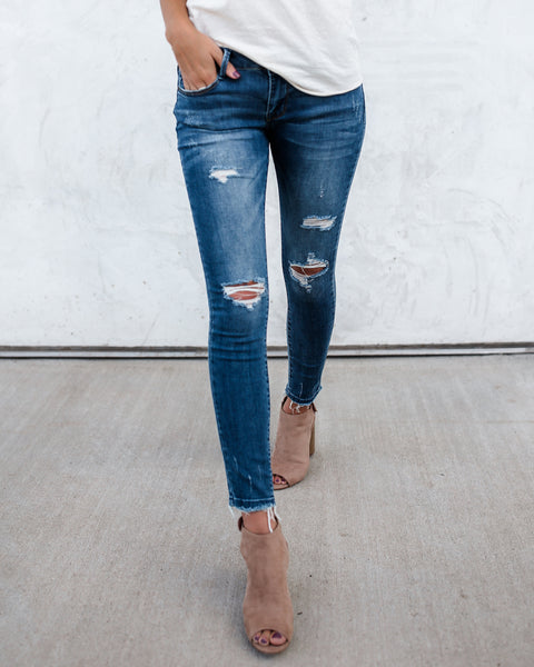 PREORDER - Asher Distressed Denim