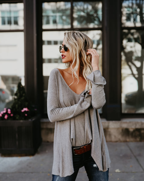 Deliciously Soft V-Neck Sweater