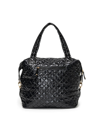 Wanderlust Quilted Weekender Bag - Black
