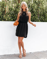 We Find Love Sleeveless Dress - Black view 6