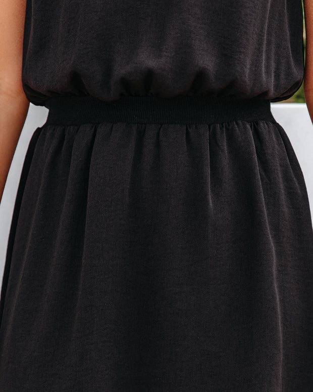 We Find Love Sleeveless Dress - Black view 4