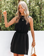 We Find Love Sleeveless Dress - Black view 7