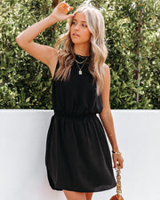 We Find Love Sleeveless Dress - Black view 3