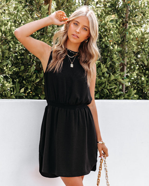 We Find Love Sleeveless Dress - Black view 10