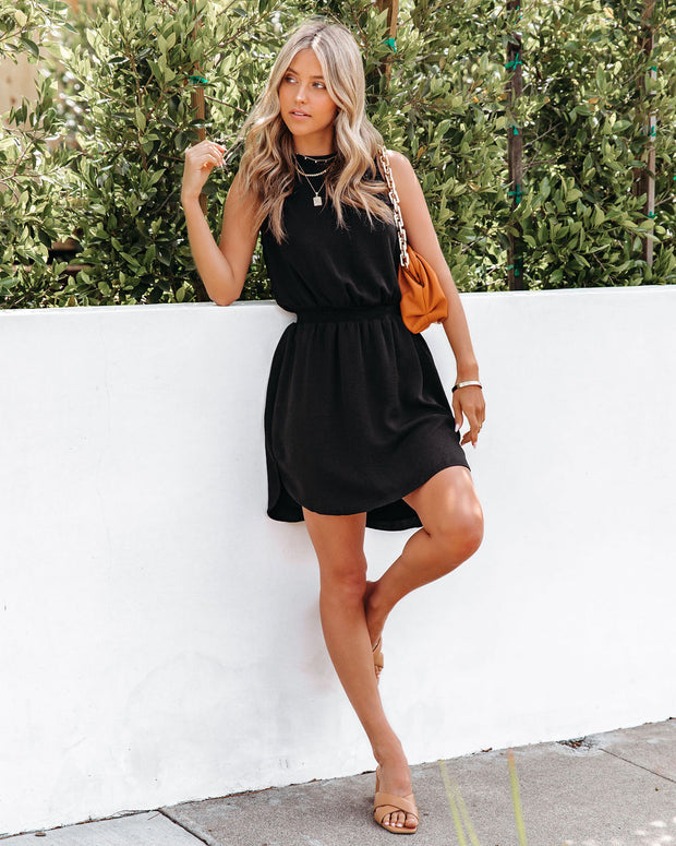 We Find Love Sleeveless Dress - Black view 11