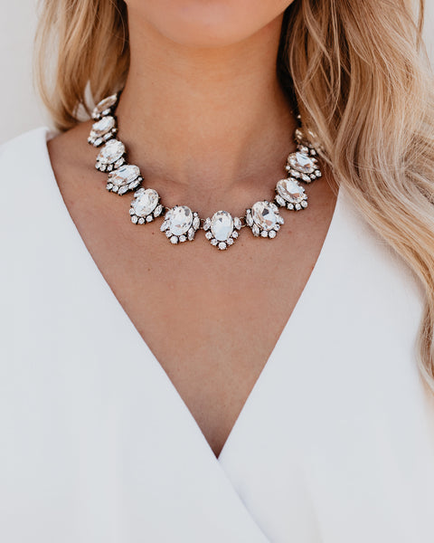 OLIVE + PIPER - La Luxe Crystal Collar