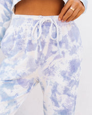 Whirlpool Cotton Pocketed Tie Dye Joggers