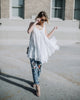 Retreat Lace Tunic - White - FINAL SALE