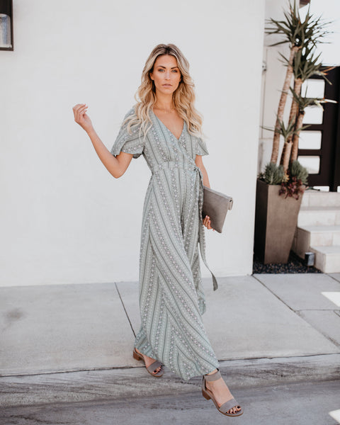 Wonderwall Wrap Maxi Dress