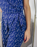 Anchors Aweigh Jumpsuit - Navy - FINAL SALE