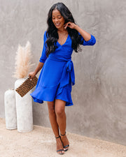 Zola Ruffle Tie Dress - FINAL SALE view 6
