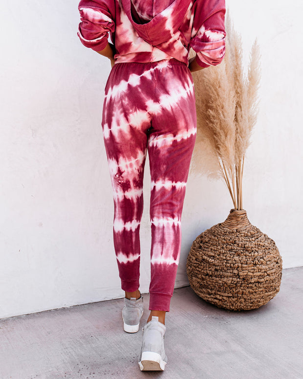 Abby Cotton Pocketed Tie Dye Joggers - FINAL SALE