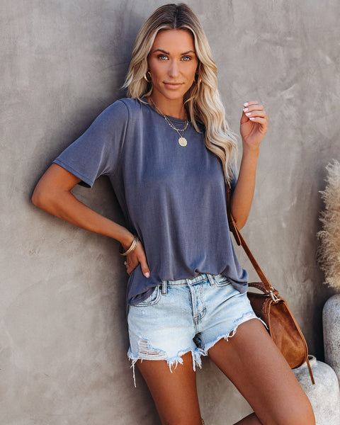Accessorize Tee - Charcoal