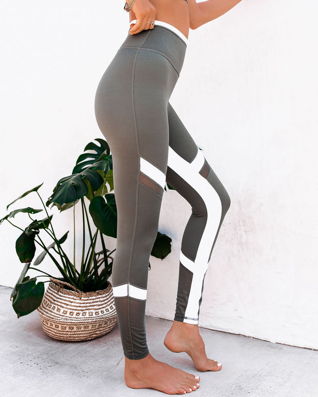 Action Mesh Panel Legging view 11