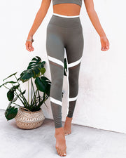 Action Mesh Panel Legging view 5