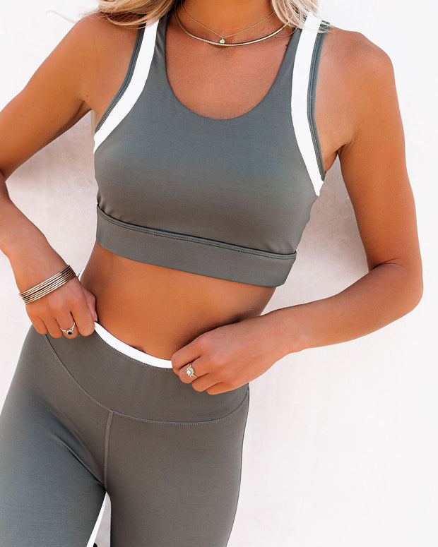 Action Mesh Panel Sports Bra view 3