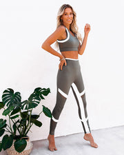 Action Mesh Panel Legging view 12