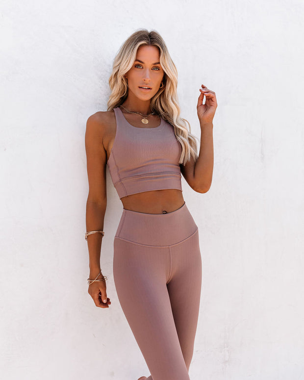 Activate Ribbed Sports Bra