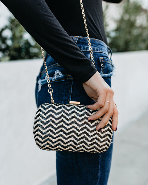 Adelaide Woven Clutch