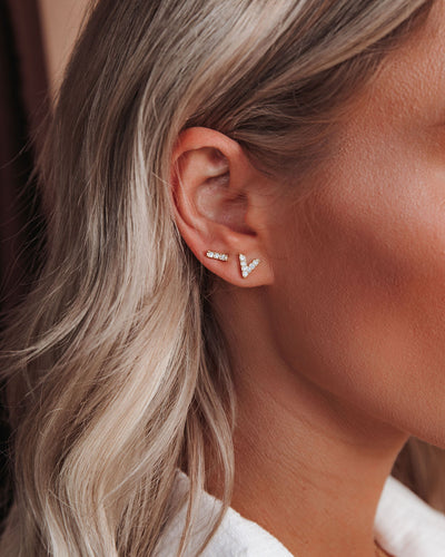 A La Mode Stud Earring Set