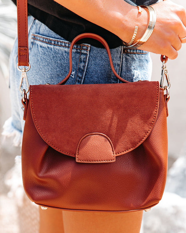 Alana Crossbody Handbag - Tan view 3