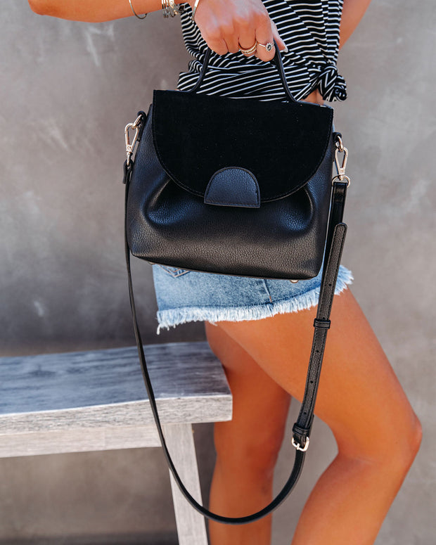 Alana Crossbody Handbag - Black view 3