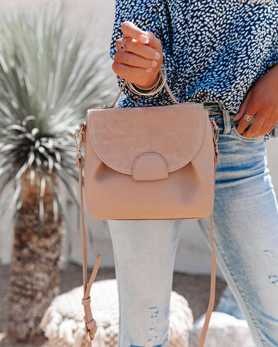 Alana Crossbody Handbag - Natural