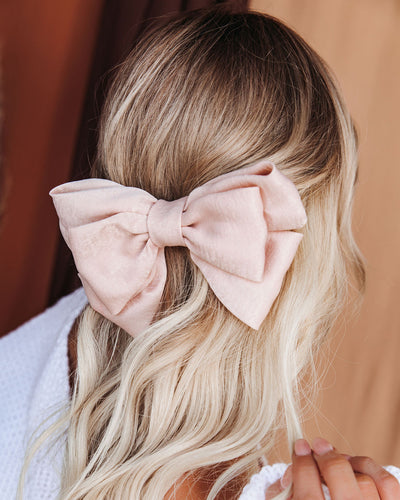 Allegro Satin Bow Hair Clip