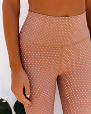 Alyssia Polka Dot Legging